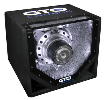Crunch GTO GT10BP Bandpass Subwoofer – Bild 2