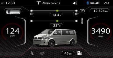 """ZENEC E>GO Infotainer mit 6.5"""" Panel für VW T5 – Bild 4"""