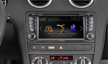 "ZENEC E>GO Infotainer mit 7"" Panel für Audi A3 – Bild 4"