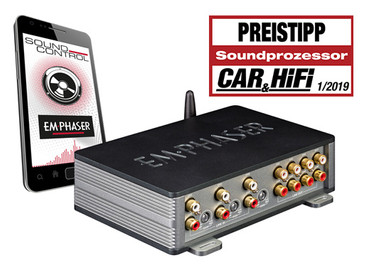EMPHASER DIGIT 8-CH DSP mit BT-Audio