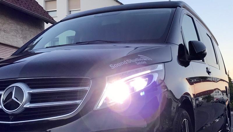 Die perfekte Alarmanlage für Mercedes Marco Polo (W447) ab BJ2014 Inkl. Einbau