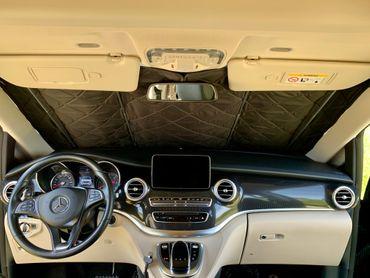 Fahrerhaus-Isolierung - Magnet-Thermomatte für Mercedes Marco Polo, Horizon, Activity (W447) & Mercedes V-Klasse / Vito ab BJ2014 – Bild 2