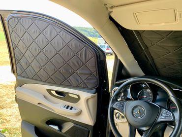 Fahrerhaus-Isolierung - Magnet-Thermomatte für Mercedes Marco Polo, Horizon, Activity (W447) & Mercedes V-Klasse / Vito ab BJ2014 – Bild 3