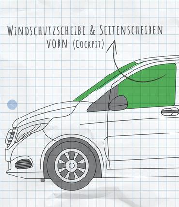 Fahrerhaus-Isolierung - Magnet-Thermomatte für Mercedes Marco Polo, Horizon, Activity (W447) & Mercedes V-Klasse / Vito ab BJ2014 – Bild 18