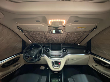 Fahrerhaus-Isolierung - Magnet-Thermomatte für Mercedes Marco Polo, Horizon, Activity (W447) & Mercedes V-Klasse / Vito ab BJ2014 – Bild 1
