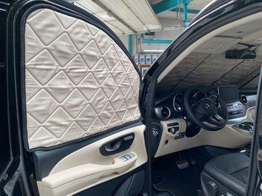 Fahrerhaus-Isolierung - Magnet-Thermomatte für Mercedes Marco Polo, Horizon, Activity (W447) & Mercedes V-Klasse / Vito ab BJ2014 – Bild 4