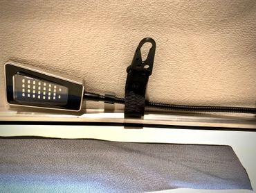 Praktischer Dach Aufhänger mit Karabiner für Mercedes Marco Polo (W447) ab BJ2014 – Bild 1