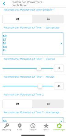 Die smarte Standheizungsteuerung, Alarmanlage, Ortung, Wegfahrsperre, per App für Mercedes Marco Polo (W447) ab BJ2014 – Bild 3