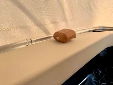 Smartphone kabellos laden im Aufstelldach des Mercedes Marco Polo (W447) ab BJ2014  - inkl. Einbau – Bild 4