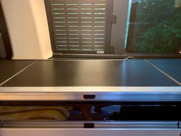 Carbon Struktur Folie für Mercedes Marco Polo W447 Abdeckung Küchenzeile – Bild 3