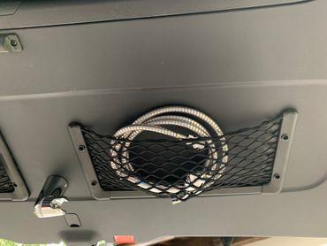 Stretchnetz für Heckklappe des Mercedes Marco Polo (2 Stück) – Bild 1