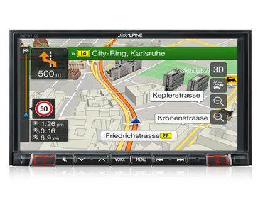 Alpine INE-W710DC Reisemobil & LKW Navigation – Bild 3