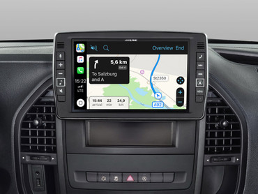 Alpine X903D-V447 - Das beste Navigations-Upgrade für den Mercedes Marco Polo Activity & Mercedes Vito(447) mit Apple Car Play und Android Auto – Bild 3