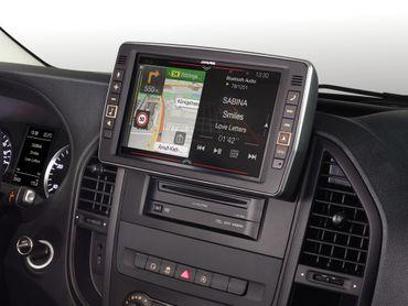 Alpine X903D-V447 - Das beste Navigations-Upgrade für den Mercedes Marco Polo Activity & Mercedes Vito(447) mit Apple Car Play und Android Auto – Bild 8