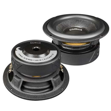 AXTON 16 cm Subwoofer 2 x 2 Ohm 75 W RMS