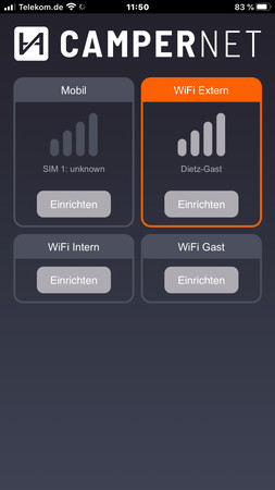CamperNet LTE/WLAN MiMo Router mit LTE & Wlan MiMo Antenne – Bild 15
