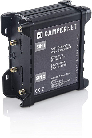 CamperNet LTE/WLAN MiMo Router mit LTE & Wlan MiMo Antenne – Bild 4
