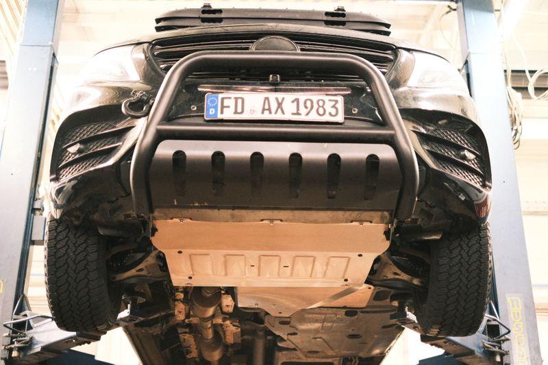 Unterbodenfahrschutz für Motor und Getriebe des Mercedes V Klasse, Vito, Marco Polo, Horizon, Activity W447