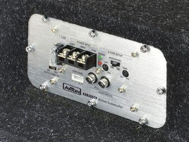 Axton AXB20STP 20cm Bandpass Aktivsubwoofer als Reserverad-Ersatz – Bild 2