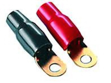ACR HA-68 - Kabelschuh 50mm rot/schwarz