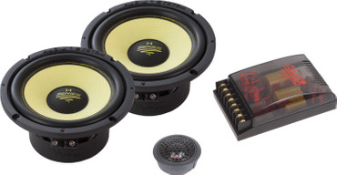 Audio System H165-4 EVO HELON-SERIES 2-OHM Doppelkomposystem