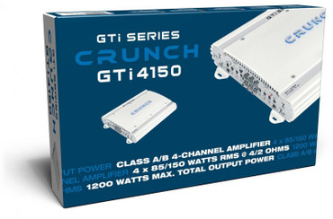 CRUNCH 4CH AMP GTI-4150 – Bild 4