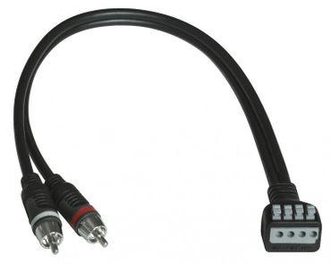 HIFONICS Hochpegel-Adapter für Cinch-Eingänge HF-HLA