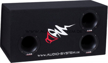 Audio System BP12 AUDIO SYSTEM Bandpass-Leergehäuse