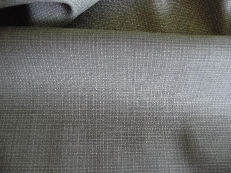 Wolle, Italien, Elastan, Grau, Längsstreifen, Top Qualität