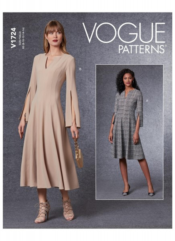 Schnittmuster, Damen, Vogue, Kleid