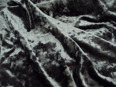 Polyester, Burda Style, Pannesamt, graugrün, Elastan, Jersey, Pannsamt, grüngrau