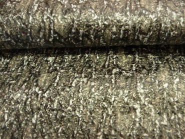 Polyester, Beschichtet, Grau, Schwarz, Braun, Grob gewebt, Meterware – Bild 1