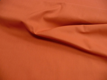 Baumwollstoff, Fahnentuch, Orange, Einfarbig, Meterware Baumwollstoff, Fahnentuch, Orange
