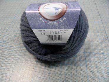 "Lana Grossa ""Feltro"" 50g Farbe 073  rauchblau – Bild 1"