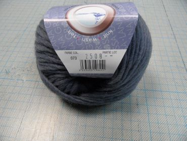 "Lana Grossa ""Feltro"" 50g Farbe 073  rauchblau – Bild 2"