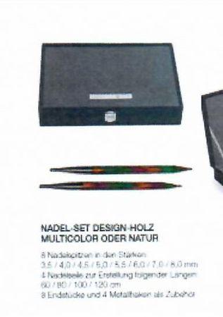 Lana Grossa Nadel-Set Design Holz – Bild 2