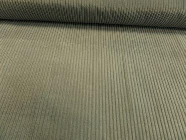 "Hilco Kleiderstoff ""Trend-Cord"" 140 cm br. 100 % BW  je 50 cm grau – Bild 1"
