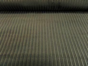 """Hilco Kleiderstoff """"Lemgo"""" Cord 140 cm br. 100 % BW  je 50 cm schwarz – Bild 1"""
