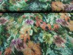 Kleiderstoff  140 cm br. BW-Mischung mehrfarbig mit Blumenmotiven 001