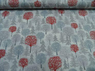 Patchworkstoff all over Weihnachten je 50 cm x 112 cmBW mehrfarbig m.Weihn.Motiv