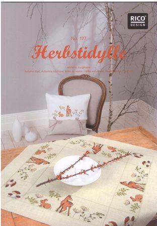"""Rico Design Stickheft Nr.127 """"Herbstidylle"""" – Bild 1"""