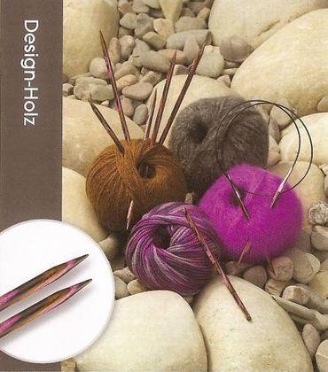 KnitPro Rundstricknadel Design-Holz v.Lana Grossa Stärke 2,0 -6,0 Stricknadeln
