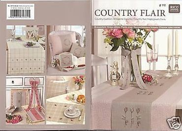 "Rico Design Stickheft Nr. 112  ""Country Flair"""