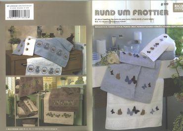 "Rico Design Stickheft Nr.109 ""Rund um Frottier"""