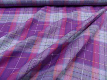 Baumwoll-Flanell geeignet f. Hemden, Blusen etc., BW mehrfarbig – Bild 6
