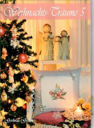 """Stickheft von Gerlinde Gebert """"Weihnachtsträume Nr. 5"""" – Bild 1"""