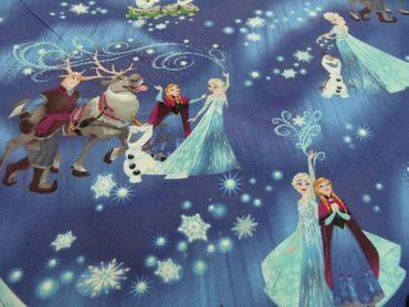 "Kinderstoff Disney ""Anna u. Elsa""   100 % Baumwolle  115 cm br. – Bild 1"