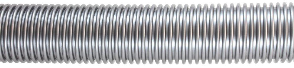 Schlauch D=36 mm, 20 Meter Rolle, silber
