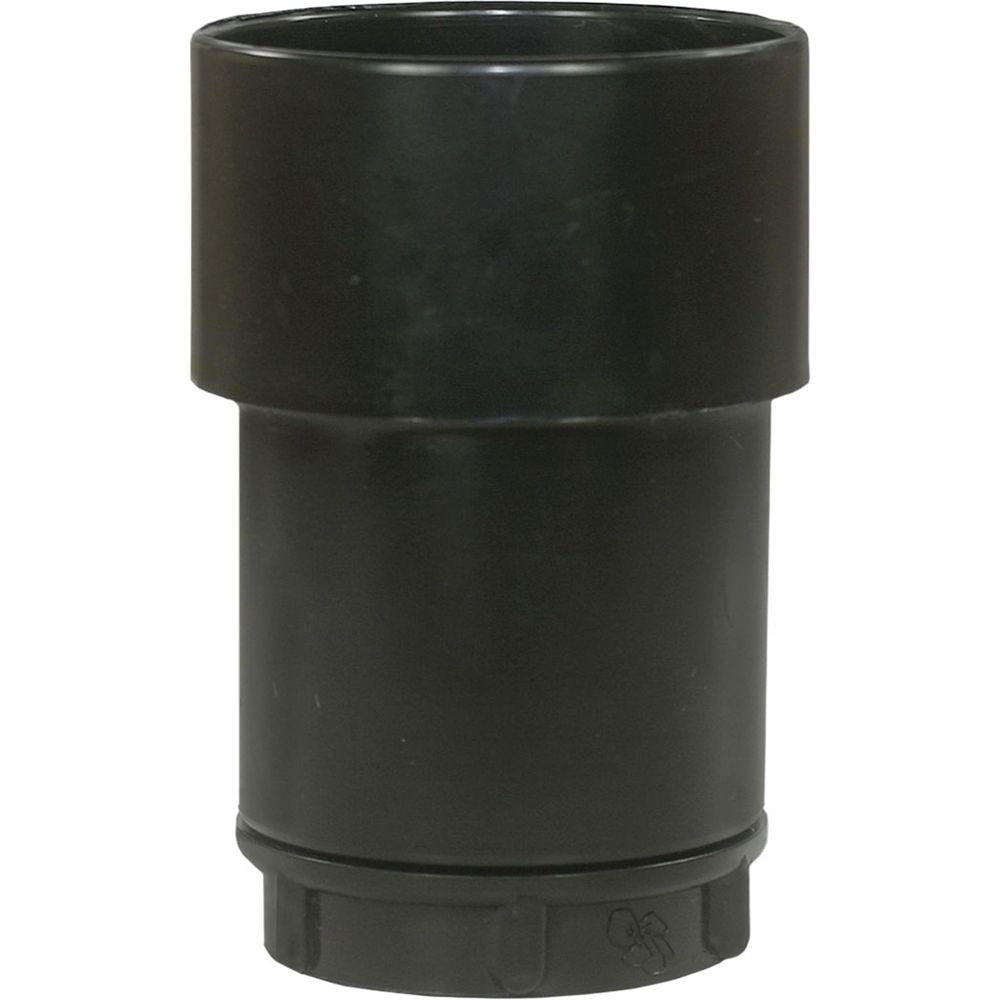 Muffe Schlauch D=32mm auf Zubehör D=58mm, drehbar
