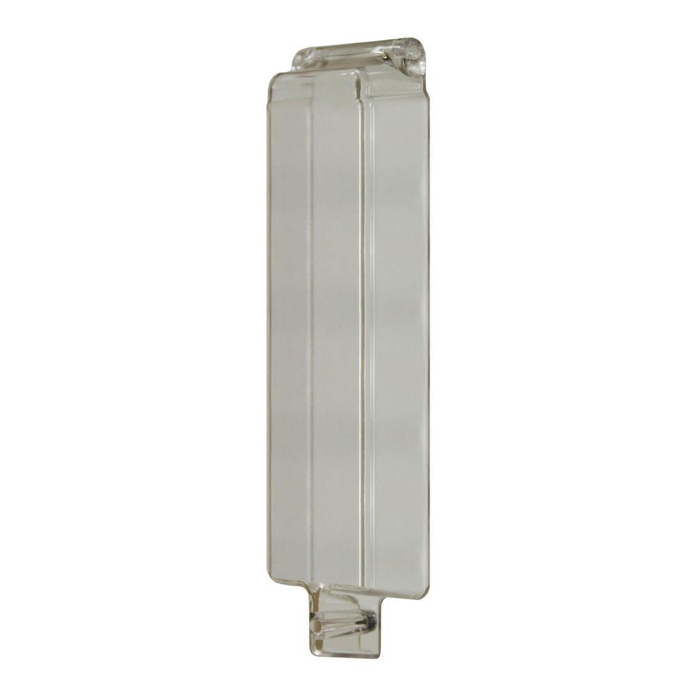 Spritzschutzklappe für Münzautomaten, 200x60x30mm (HxBxT)